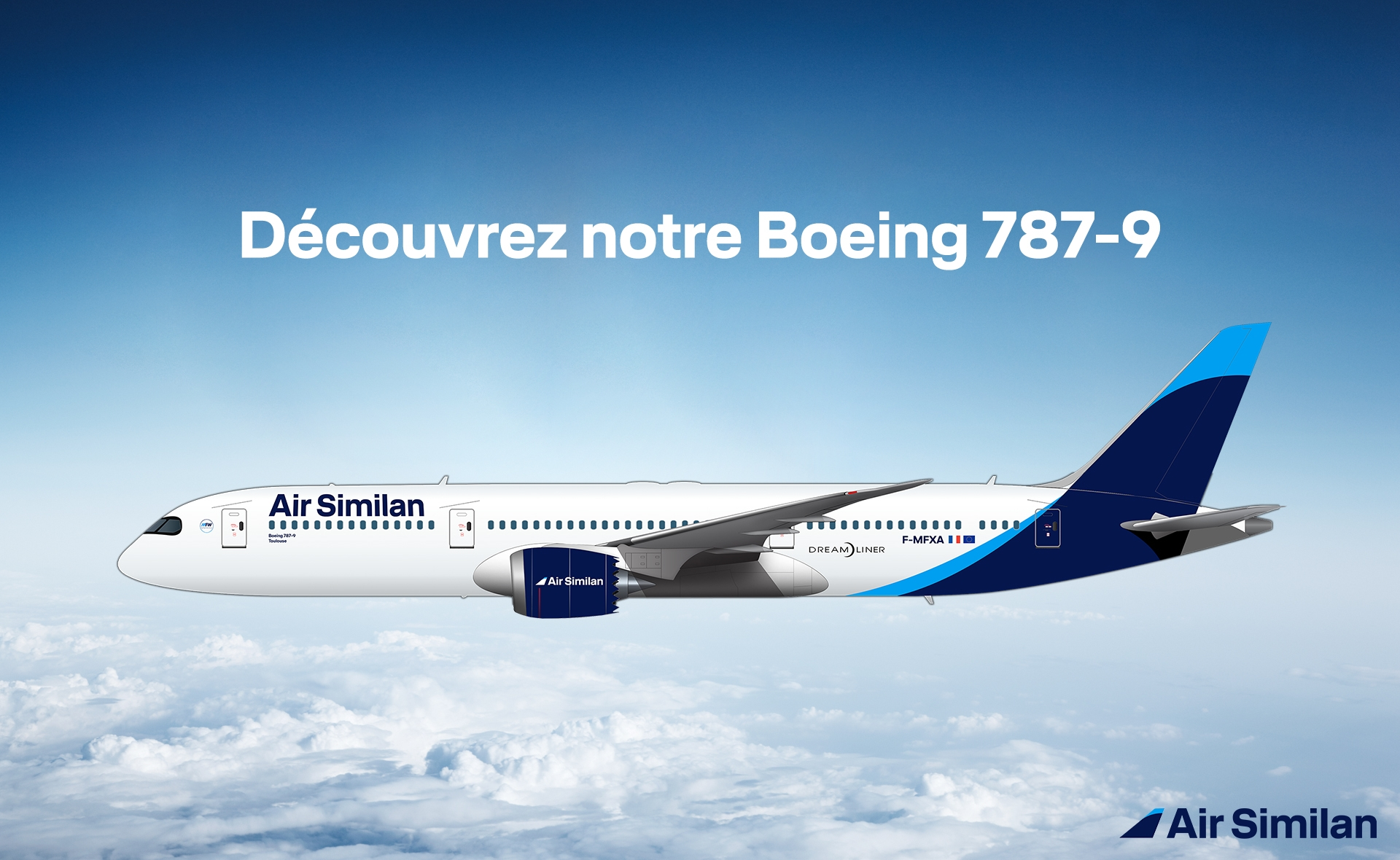 Air Similan commande 4 Boeing 787-9 Dreamliner